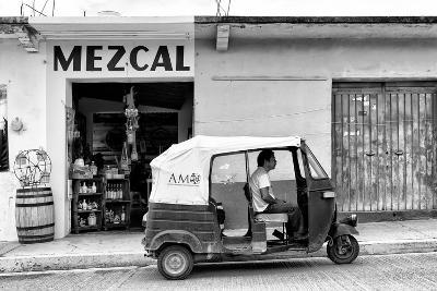 ¡Viva Mexico! B&W Collection - Mezcal Tuk Tuk-Philippe Hugonnard-Photographic Print