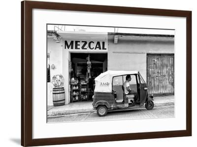 ?Viva Mexico! B&W Collection - Mezcal Tuk Tuk-Philippe Hugonnard-Framed Photographic Print