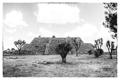 ?Viva Mexico! B&W Collection - Pyramid of Cantona IV-Philippe Hugonnard-Photographic Print