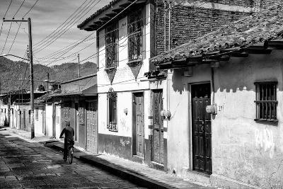 ?Viva Mexico! B&W Collection - Street Scene San Cristobal de Las Casas II-Philippe Hugonnard-Photographic Print