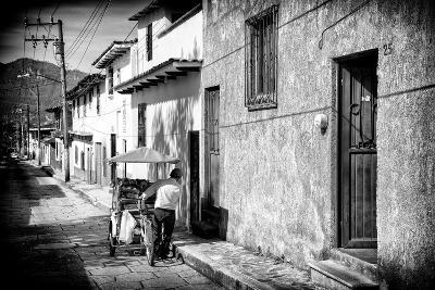 ¡Viva Mexico! B&W Collection - Street Scene San Cristobal de Las Casas-Philippe Hugonnard-Photographic Print