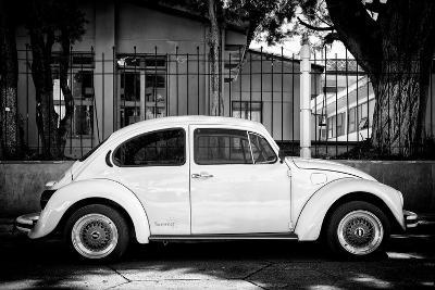 "?Viva Mexico! B&W Collection - ""Summer"" VW Beetle Car-Philippe Hugonnard-Photographic Print"