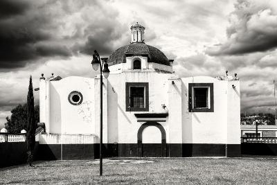 ¡Viva Mexico! B&W Collection - Traditional Mexican Church-Philippe Hugonnard-Photographic Print