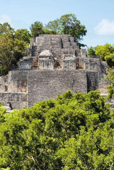 ¡Viva Mexico! Collection - Ancient Maya City within the jungle of Calakmul III-Philippe Hugonnard-Photographic Print
