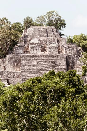 ?Viva Mexico! Collection - Ancient Maya City within the jungle of Calakmul IV-Philippe Hugonnard-Photographic Print