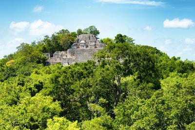 ?Viva Mexico! Collection - Ancient Maya City within the jungle of Calakmul V-Philippe Hugonnard-Photographic Print