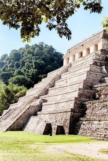 ?Viva Mexico! Collection - Beautiful Temple of the Inscription - Palenque IV-Philippe Hugonnard-Photographic Print