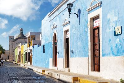 ?Viva Mexico! Collection - Blue Campeche-Philippe Hugonnard-Photographic Print