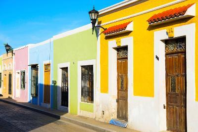 ?Viva Mexico! Collection - Campeche City Colonial Architecture-Philippe Hugonnard-Photographic Print
