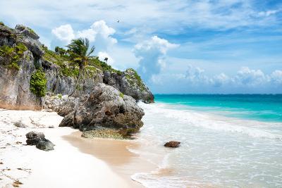 ¡Viva Mexico! Collection - Caribbean Beach II-Philippe Hugonnard-Photographic Print