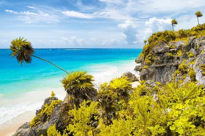 ?Viva Mexico! Collection - Caribbean Coastline in Tulum II-Philippe Hugonnard-Photographic Print