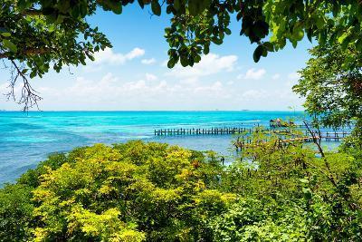 ?Viva Mexico! Collection - Caribbean Sea V - Cancun-Philippe Hugonnard-Photographic Print