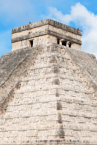 ?Viva Mexico! Collection - Chichen Itza Pyramid II-Philippe Hugonnard-Photographic Print