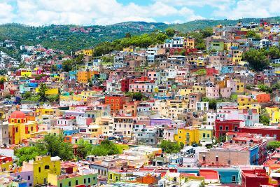 ¡Viva Mexico! Collection - Colorful Cityscape IX - Guanajuato-Philippe Hugonnard-Photographic Print