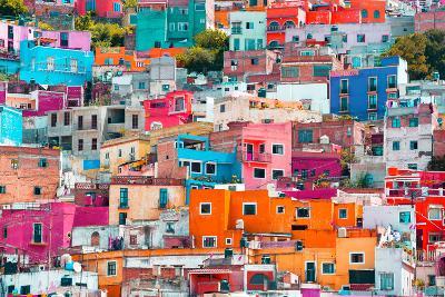 ?Viva Mexico! Collection - Colorful Cityscape XII - Guanajuato-Philippe Hugonnard-Photographic Print