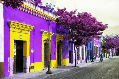 ¡Viva Mexico! Collection - Colorful Mexican Street III - Oaxaca-Philippe Hugonnard-Photographic Print
