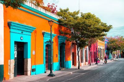 ¡Viva Mexico! Collection - Colorful Mexican Street IV - Oaxaca-Philippe Hugonnard-Photographic Print