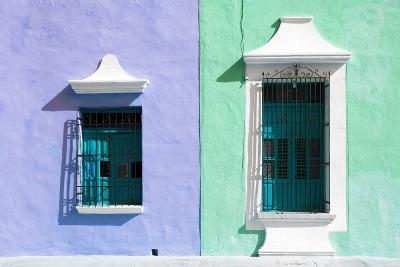 ¡Viva Mexico! Collection - Colors Houses in Campeche II-Philippe Hugonnard-Photographic Print