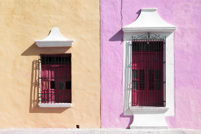 ¡Viva Mexico! Collection - Colors Houses in Campeche IV-Philippe Hugonnard-Photographic Print