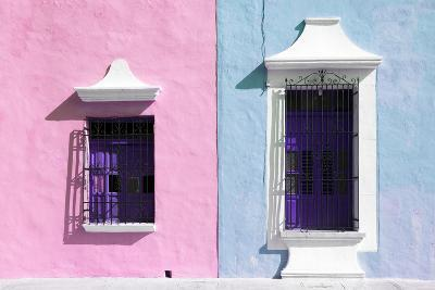 ¡Viva Mexico! Collection - Colors Houses in Campeche V-Philippe Hugonnard-Photographic Print