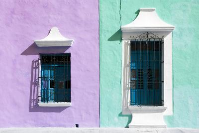 ?Viva Mexico! Collection - Colors Houses in Campeche VI-Philippe Hugonnard-Photographic Print