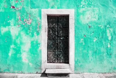 ?Viva Mexico! Collection - Coral Green Wall of Silence-Philippe Hugonnard-Photographic Print