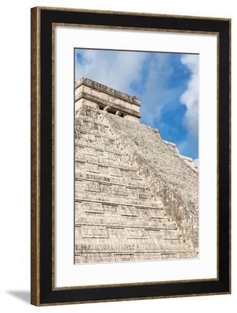 ¡Viva Mexico! Collection - El Castillo Pyramid - Chichen Itza II-Philippe Hugonnard-Framed Photographic Print