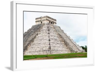 ¡Viva Mexico! Collection - El Castillo Pyramid - Chichen Itza IV-Philippe Hugonnard-Framed Photographic Print