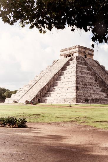 ?Viva Mexico! Collection - El Castillo Pyramid in Chichen Itza IX-Philippe Hugonnard-Photographic Print