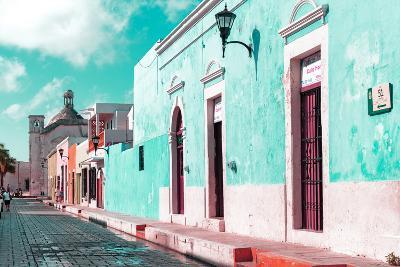 ¡Viva Mexico! Collection - Green Campeche-Philippe Hugonnard-Photographic Print