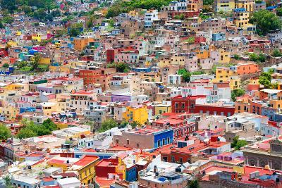 ?Viva Mexico! Collection - Guanajuato - Colorful City II-Philippe Hugonnard-Photographic Print