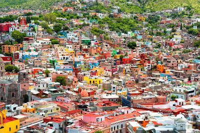 ¡Viva Mexico! Collection - Guanajuato - Colorful City III-Philippe Hugonnard-Photographic Print