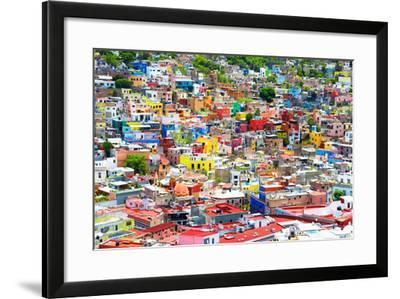 ¡Viva Mexico! Collection - Guanajuato - Colorful City VII-Philippe Hugonnard-Framed Photographic Print