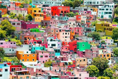 ?Viva Mexico! Collection - Guanajuato - Colorful City XI-Philippe Hugonnard-Photographic Print