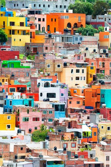 ?Viva Mexico! Collection - Guanajuato - Colorful City XII-Philippe Hugonnard-Photographic Print