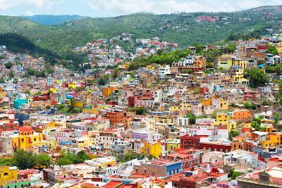 ¡Viva Mexico! Collection - Guanajuato - Colorful City-Philippe Hugonnard-Photographic Print
