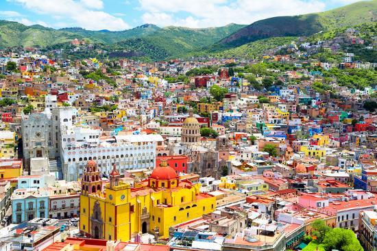 ¡Viva Mexico! Collection - Guanajuato II-Philippe Hugonnard-Photographic Print