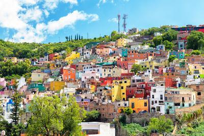?Viva Mexico! Collection - Hillside view of Guanajuato-Philippe Hugonnard-Photographic Print