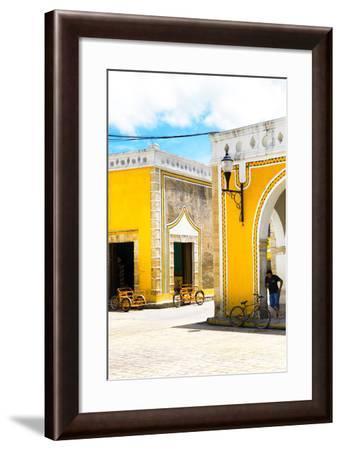 ¡Viva Mexico! Collection - Izamal the Yellow City III-Philippe Hugonnard-Framed Photographic Print