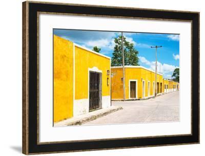 ¡Viva Mexico! Collection - Izamal the Yellow City V-Philippe Hugonnard-Framed Photographic Print