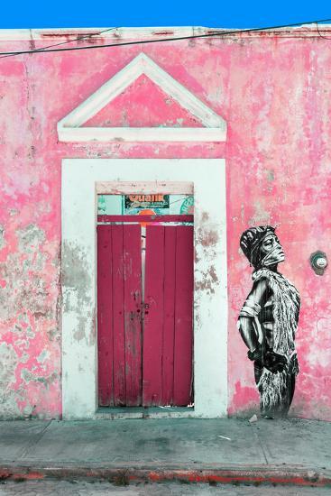 ¡Viva Mexico! Collection - Main entrance Door Closed IX-Philippe Hugonnard-Photographic Print