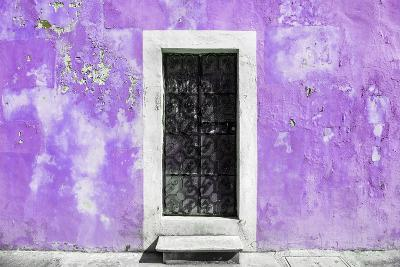 ¡Viva Mexico! Collection - Mauve Wall of Silence-Philippe Hugonnard-Photographic Print