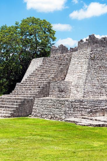 ?Viva Mexico! Collection - Maya Archaeological Site III - Edzna Campeche-Philippe Hugonnard-Photographic Print