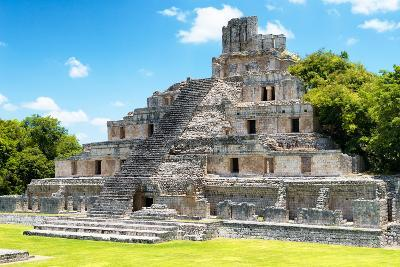 ?Viva Mexico! Collection - Maya Archaeological Site IV - Edzna Campeche-Philippe Hugonnard-Photographic Print
