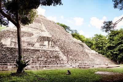 ?Viva Mexico! Collection - Mayan Pyramid II-Philippe Hugonnard-Photographic Print