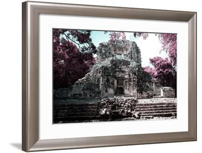 ¡Viva Mexico! Collection - Mayan Ruins - Campeche II-Philippe Hugonnard-Framed Photographic Print