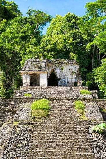 ?Viva Mexico! Collection - Mayan Ruins in the Forest-Philippe Hugonnard-Photographic Print
