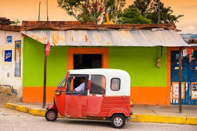 ?Viva Mexico! Collection - Mexican Tuk Tuk-Philippe Hugonnard-Photographic Print