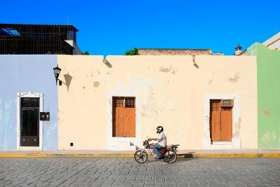 ?Viva Mexico! Collection - Motorbike Ride in Campeche-Philippe Hugonnard-Photographic Print