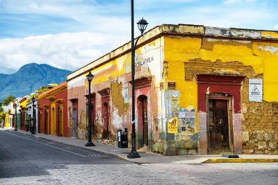 ¡Viva Mexico! Collection - Oaxaca City Street-Philippe Hugonnard-Photographic Print